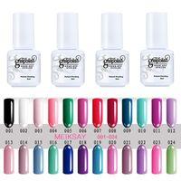 Wholesale 2016 ml Soak Off UV Gel Nail Polish Gel Polish Colors Popular Nice Soak Off Nail Art Gelpolish Manicure Decoration