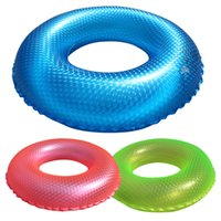 Wholesale 2016 Hot Sales Adult Kids Summer Outdoor Inflatable Swim Ring Pool Swimming Floating Boat Row Water Toy Color