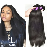 beauty braids - Brazilian Hair Straight Silky Brazilian Hair Weave Bundles A Human Braiding Hair Beauty Forever Brazillian Straight Hair