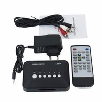 Wholesale p Media Center RM RMVB AVI MPEG TV Player with USB and MMC Port