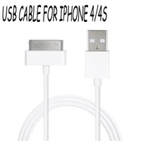 Wholesale Original Micro USB Phone Cable Charger For i Phone S Charging Cable Data Transmission For I PAD Cable line
