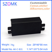 aluminum electrical enclosures - hot selling aluminum electrical enclosure cabinet pcb amplifier box szomk aluminum custom made project case mm AK C B31