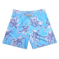 Wholesale Men clothing Vilebre sea turtle printed speed dry beach shorts fashion sea horse pircing England beach shorts