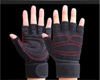 Wholesale Men And Women Riding Jogging Outdoor Climbing Gym Weightlifting Wrist Motion Handling Tactical Half Finger Gloves L013