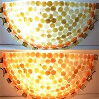 Wholesale Modern Nature Shell Flush Uplighter Wall Light Sconce Lighting Lamp
