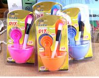 Wholesale FRER SHIPPING DIY Beauty Set Four piece suit mask bowl essential beauty mask bowl