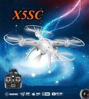 SYMA Syma X5SC Drones RC avec le mode Headless Quadcopter aérienne hélicoptère avec caméra HD Enfants Drone Jouets