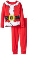 american express - Classic Christmas pajamas Pajama sets kids homewear baby boy clothes Ins tops pants set cotton Fast express shipping