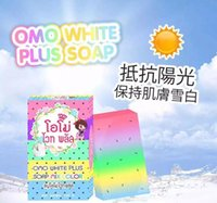 Wholesale Brand New Arrivals OMO White Plus Soap Mix Color Plus Five Bleached White Skin Gluta Rainbow Soap