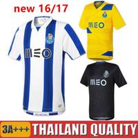 Wholesale 16 porto Home soccer Jerseys Top Thai quality Casillas Goalkeeper MAREGA SILVA ABOUBAKAR away Football Shirts camisas de futebol