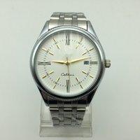 Wholesale 2016 men s watch luxury brand watches military movement quartz watch men watch waterproof calendar Relogio gift table