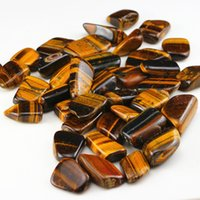 aquarium decoration plants - Big natural tiger eye stone nunatak cat eye tiger s eye crystal gravel flower crystal magnet beads nunatak aquarium decoration