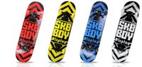 Wholesale Fashion personality tide men women and children skateboard four wheel skateboard maple material multicolor