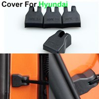 best car check - New Car styling Door Check Arm Protection Cover For Hyundai SOLARIS Sonata Verna Elantra Best quality