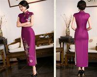 Wholesale cheongsam dress upscale improved cheongsam dress summer fashion Chinese Cheongsam evening dress