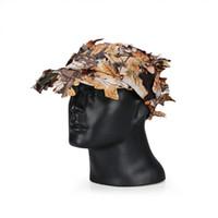 Wholesale Tactical Men Outdoor Camouflage Hats Caps Wide Brim Hats For CS War Game CL29