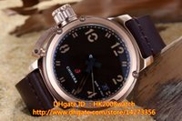 best mechanical watches - New Luxury Rose Gold MM Chimera Automatic Gents Watch High Quality SS Black Dial Leather Strap Mens Best Sports Watches Ref U51 U42