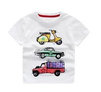 Wholesale T Shirt T Boy Kids Camera Short Sleeve Tops O Neck T Shirt Tees Clothes Kids Summer Clothing white gray