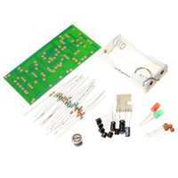 Wholesale Clap Switch Suite Electronic Production DIY Kits Red Green LED Display Circuit Electronics for primary electronic hobby practice