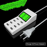 ac extension - Portable usb charger Ports Wall Charger AC Power Adapter EU US UK Plug Charging Extension Socket Outlet Charger for phone