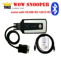 Wholesale 2016 WoW SNOOPER with bluetooth V5 R2 software Keygen as gift tcs cdp pro cars trucks diagnostic tool better than tcs cdp pro plus