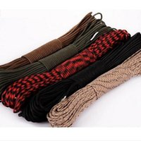 Wholesale 100 FT M Parachute Cord Strand Core Lanyard Mil Spec Type III Dynamic Safety rope Auxiliary Accessory Cord Climbing Camping