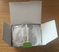 Wholesale pack Aluminum Foil Paper with cutton For UV Gel Wraps Remove gel nail products ZG002