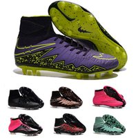 gold spikes - 2016 original Hypervenom Phantom II Outdoor Soocer Shoes High Ankle Superfly Soccer Cleats Outdoor Hypervenom Shoes