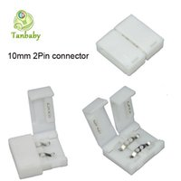 Wholesale Tanbaby mm pin PIN Connector DIY Adapter For SMD LED Strip Lighting Single Color Tape Lamps