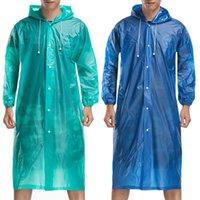 Wholesale Fashion Walk Ride Outdoor Waterproof Clothes Rainwear Rain Riding Clothes Single Biking Poncho Capes in Rain days