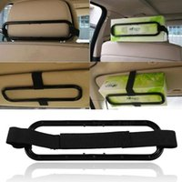 Wholesale 5 Brand New Car Visor Headrest Clip Bracket For Napkin Paper Boxs FG16409