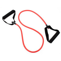 Wholesale 4 ft All Purpose Exercise Resistance Band Workout Single Tube Strength Training for Home Gym Yoga Fitness Equipment Exercise Cord