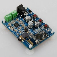 Wholesale Bluetooth Audio Receiver Board Wireless Stereo W Amplifier Sound V CAR