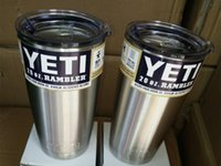 beer product - YETI latest products double layer stainless steel heat insulation Cup oz oz Snowman Cup car beer large capacity