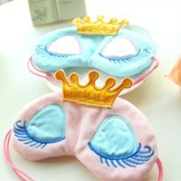 beauty departments - Export orders sleeping beauty sleep warm eye department crown long eyelashes super adorable cartoon eyeshade