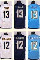 benjamin xl - 2016 New Men s Keenan Allen Travis Benjamin White Light Blue Navy Blue Elite jerseys Top Quality jerseys