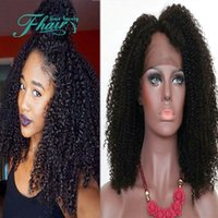 beauty banking - Beauty Hair A Grade Unprocessed Full Lace Wig Lace Front Wigs Brazilian Kinky Curly For Black Women With Baby Hair