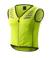 Wholesale Cycling clothing fluorescent color vest riding motorcycle reflective clothing safety vest Cycling Jerseys Cycling Shirts C