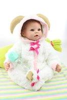 Cheap 2016 High quality fashion 22 inch 55cm lifelike real silicone baby doll reborn baby girl WR3412