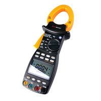 Wholesale High presion phase Intelligent TRMS Digital clamp Meter power factor correction multimeter for V A W VA kVA KVAR Hz kW MS2203