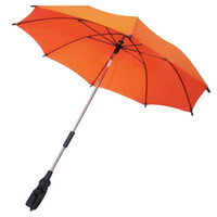 Wholesale baby stroller accessories umbrella pram shade Parasol adjustable folding umbrella staineless steel frame