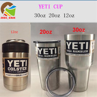 Wholesale oz oz oz steel cups high quality coolers cups juice coffee tea beer cooler cups mugs free DHL
