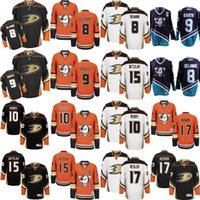 Wholesale 2017 Anaheim Ducks Alternate Orange Hockey Jerseys Teemu Selanne Paul Kariya Corey Perry Ryan Kesler Ryan Getzlaf Jersey stitch