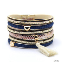 bar jeans - best seller New design Jeans style bracelet heart magnetic bracelet with tassel fashion high quality Jeans jewelry