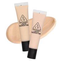 Wholesale Liquid Foundation Concealer Moisture Sunscreen Natural Lasting Brighten Gentle Degrees Light White As Ivory For Beauty Women