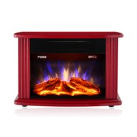 bathroom electric fireplace - D simulation mini flame electric fireplace household heater heater energy saving