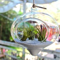 Wholesale Glass Hanging Air Plant Terrarium Stunning Large Teardrop Teardrop Shape Glass hanging Terrarium glass terrarium