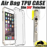 apples first iphone - For iphone s cases Galaxy S7 Cases Air Bag Shockproof First Generation Case Samsung S6 Ultra Thin Soft TPU Case Opp Package