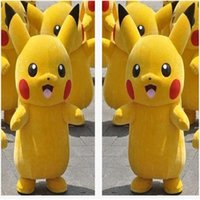 Wholesale 2016 Pikachu Mascot Costume Fancy Dress Popular Cartoon Character Costume Character Fancy Dress Cartoon Mascot Costume