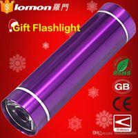 Wholesale Lomon Mini Gift Multifunction Outdoor Knife Emergency Torch Led LED flashlight Minilight in stock